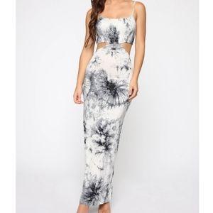 Spread Some Love Tie Die Maxi Dress